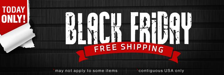 Black Friday - Free Shipping