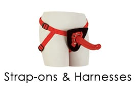 Strap Ons and Harnesses Dildos Sub Category Page